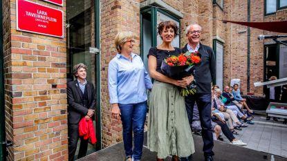 Lara Taveirne heeft nu ook haar plein