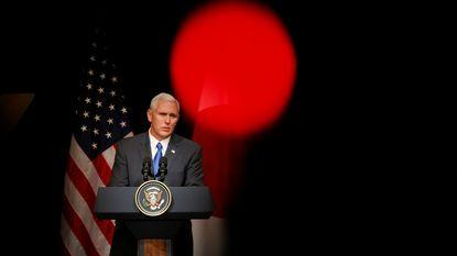 """Pence: """"Noord-Korea is grootste bedreiging voor Aziatisch-Pacifische regio"""""""