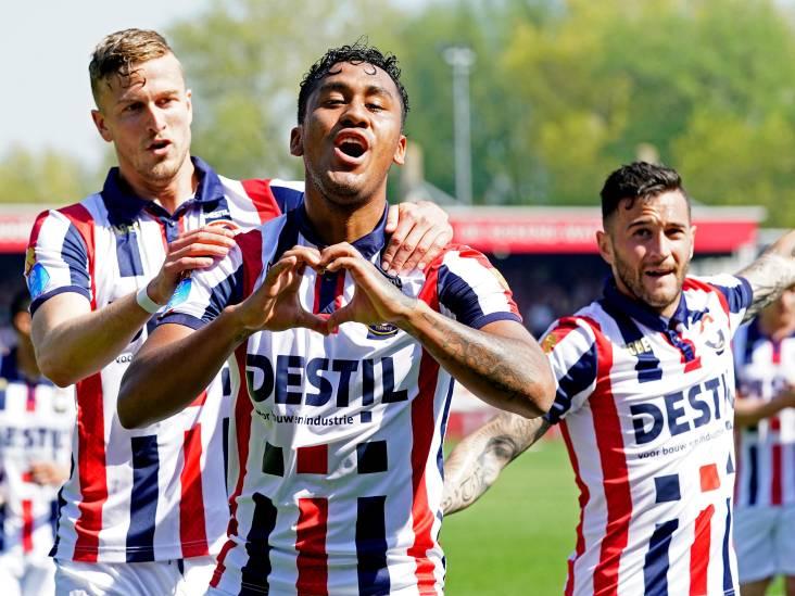 Willem II verbetert clubrecord in uitduels