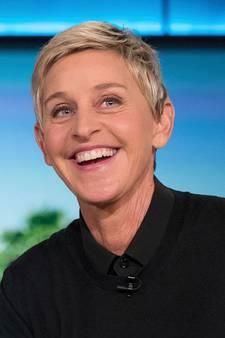 Presentatrice Ellen DeGeneres komt ongelukkig ten val
