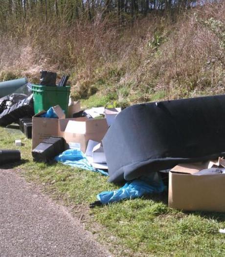 'Minder vaak restafval ophalen in Roosendaal leidt tot illegaal afval dumpen'