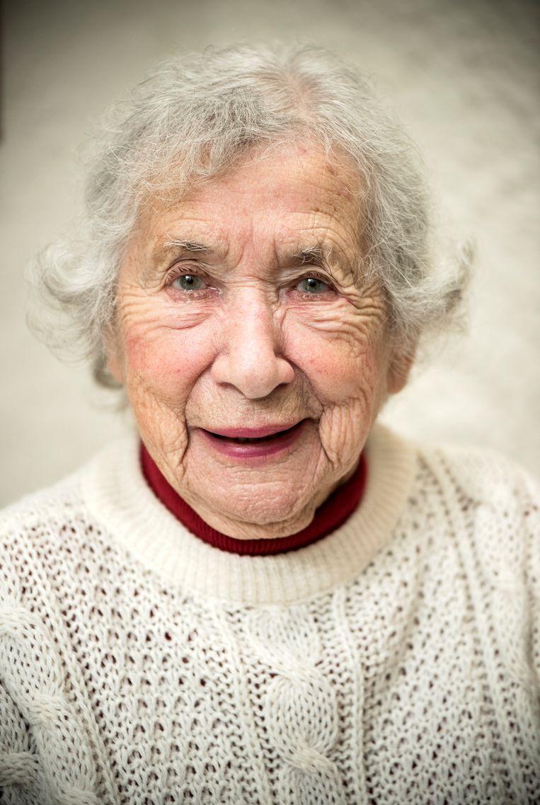 Verzetsstrijden Selma van de Perre verloor beide ouders en haar zusje tijdens de oorlog. Beeld Chris van Houts
