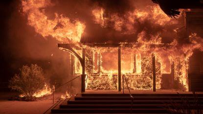 Een rampenfilm, maar dan echt: bosbranden in Californië jagen opnieuw duizenden op de vlucht