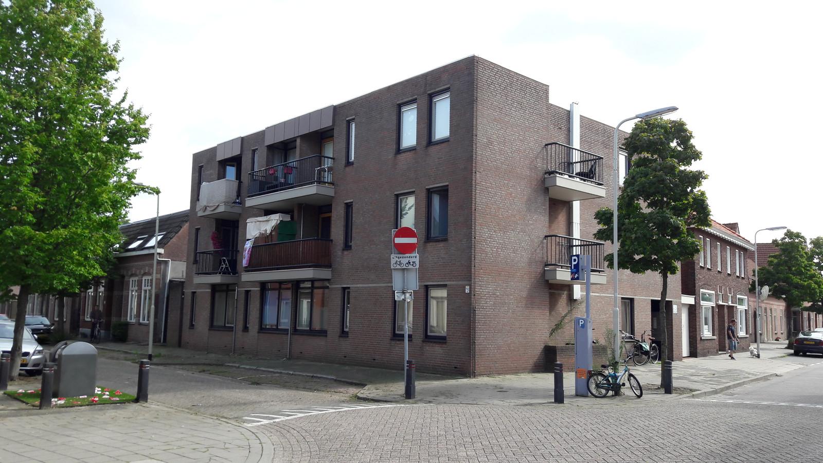 Het beoogde complex Wilhelminastraat 3 voor Kamers met Kansen