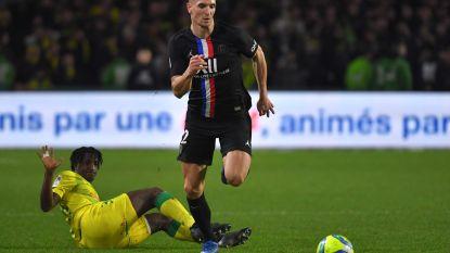 Football Talk. Meunier en PSG pakken volle buit tegen Nantes van Emond - Beloften Liverpool winnen in FA Cup - Ook einde seizoen voor KVM-spits Engvall