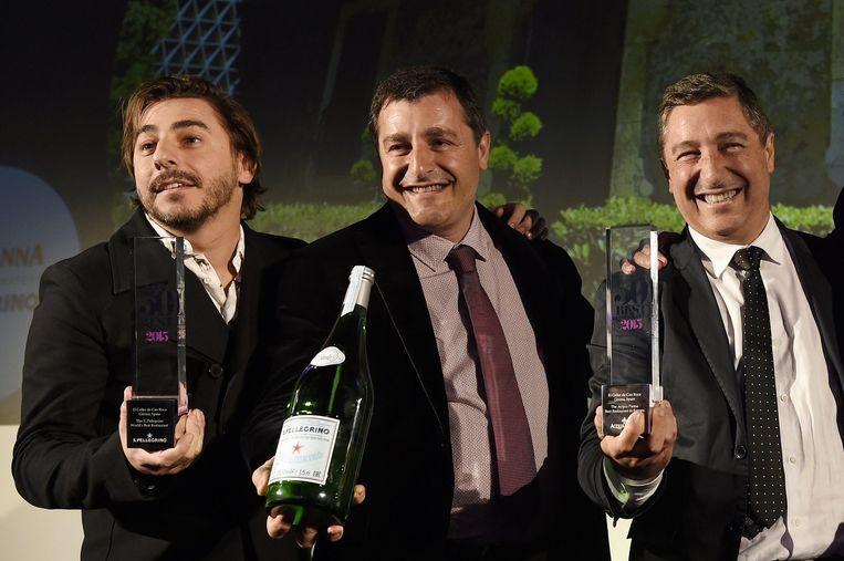 Jordi, Joan en Joseph Roca, zaakvoerders van het restaurant El Celler de Can Roca in Girona.