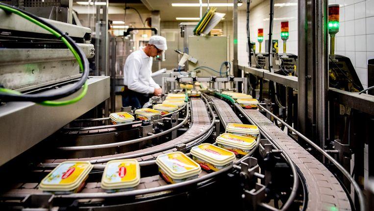De margarinefabriek van Unilever in Rotterdam. Beeld anp