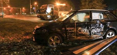 Ongeval met vijf auto's op de N270 bij Deurne