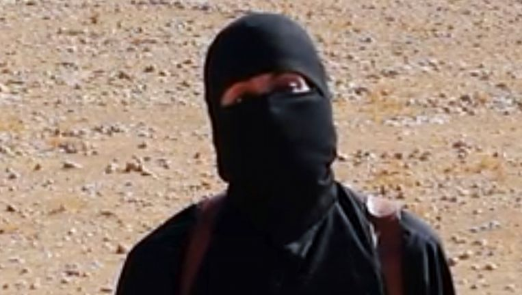 Jihadi John, de bekendste Britse jihadstrijder. Beeld ap
