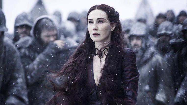 Carice van Houten in Game of Thrones. Beeld HBO