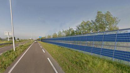 E17 krijgt 2,5 kilometer lange 'zonnewand'
