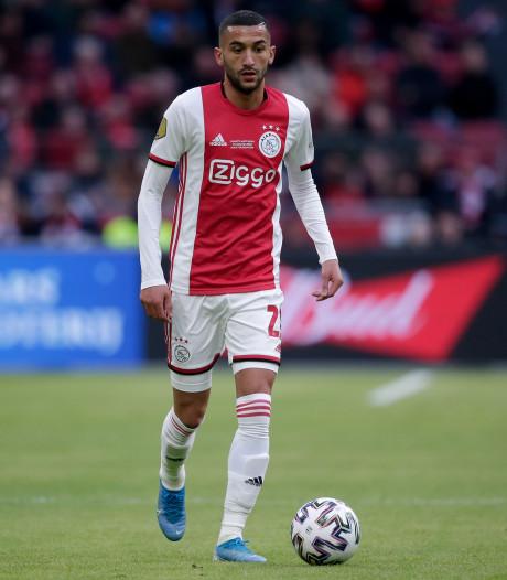 Ajax weken zonder Ziyech door kuitblessure