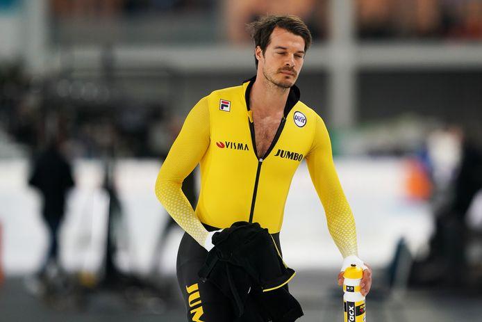 25-01-2020: Schaatsen: NK Allround en Sprint: Heerenveen Hein Otterspeer