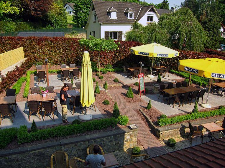 Valduc, het restaurant van John Geldhof is door de werken op de Naamsesteenweg moeilijk bereikbaar.