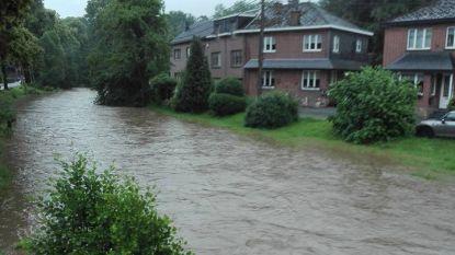 Wateroverlast in Limburg en Vlaams-Brabant, rampenplan in Voeren weer opgeheven
