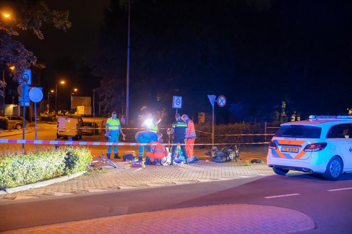 Het slachtoffer werd langdurig op straat gereanimeerd.