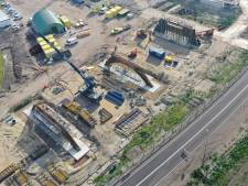 Hoe vordert de aanleg van de Westparallel? Een overzicht met luchtfoto's