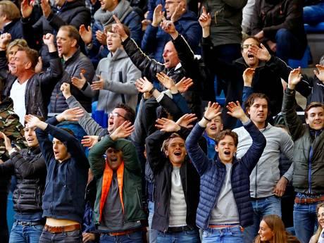 Vitesse zegt sorry voor Feyenoord-fans op West-tribune