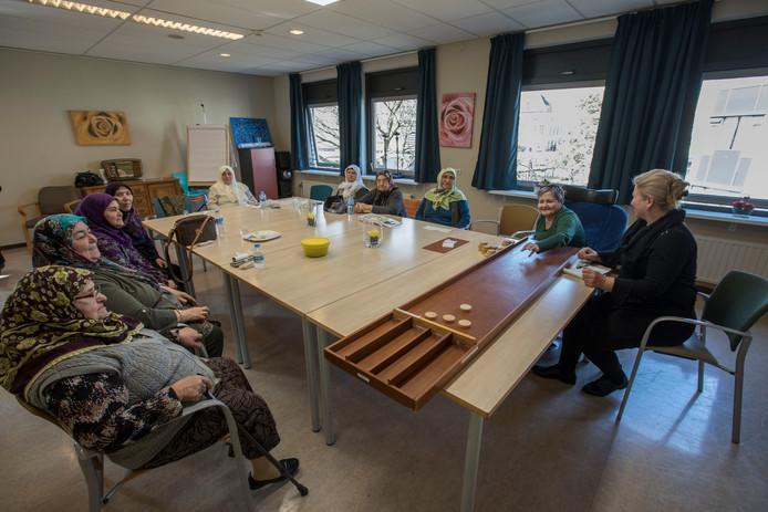De salam in zorgcentrum Keyserinnedael in Helmond.