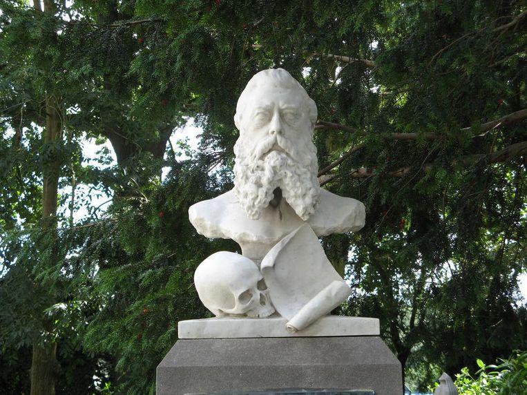 Een van de details op de graven Beeld Flickr