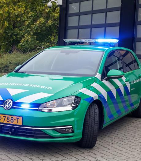 Nieuw in Twente: groen voertuig met blauw zwaailicht
