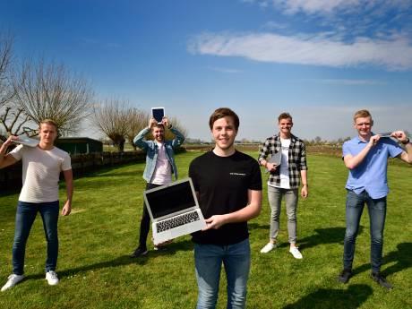 Online platform van vriendengroep uit Stolwijk helpt scholieren en studenten met studiekeuze