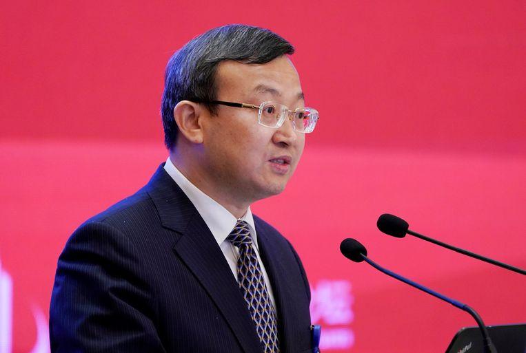 Chinese viceminister van Handel, Wang Shouwen.