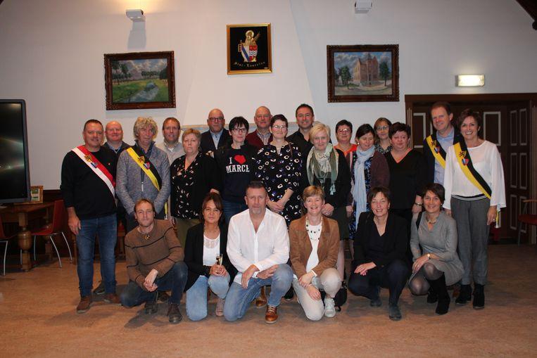 De 50-jarigen van Sint-Laureins.