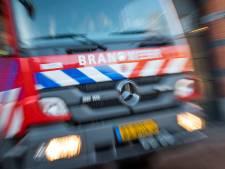 Twee auto's in Vlaardingen in vlammen op