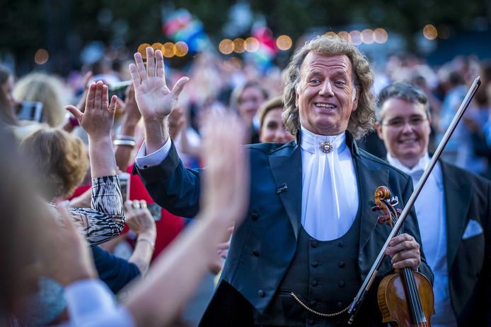 Andre Rieu had gehoopt op een Songfestival in Maastricht.