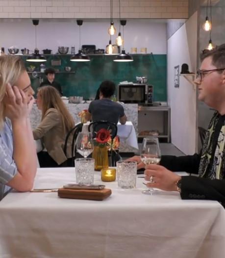 Jesse (23) uit Enschede knapt in 'First Dates' af op blonde Brandon