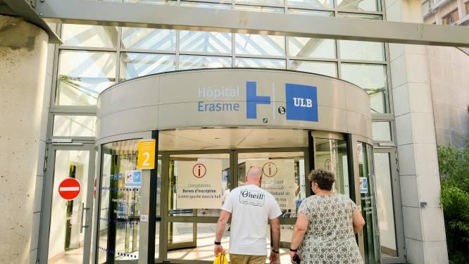 """Werknemers van Erasmusziekenhuis in Anderlecht leggen tijdje het werk neer: """"We zijn aan het eind van ons Latijn"""""""