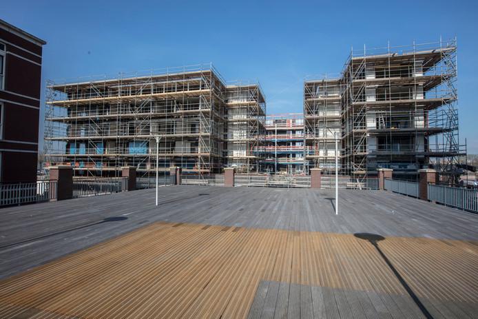 Nieuwbouw op Suytkade in Helmond.