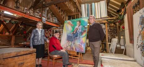 Vijftig werken van Frans Alkemade uit Sint-Oedenrode naar tentoonstelling Den Haag