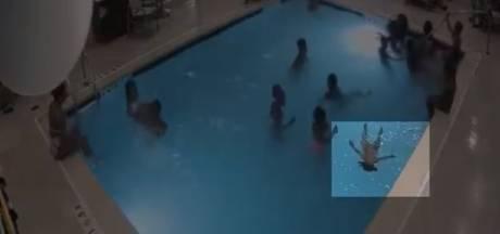 Politie VS deelt beelden van meisje (9) die peuter van verdrinkingsdood redt