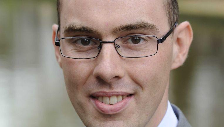 Statenlid Gert-Jan Krabbendam van de GroenLinksfractie wordt gebrek aan integriteit verweten. Beeld ANP
