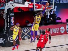 LA Lakers één zege verwijderd van eerste finale in tien jaar