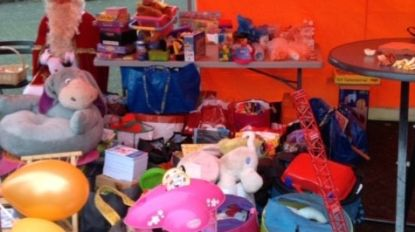 Dienstenchequekantoor zamelt speelgoed in voor De Hagewinde