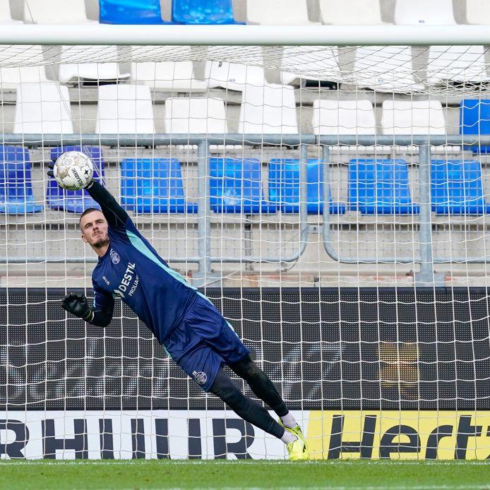 Jorn Brondeel, nieuw bij Willem II, treft dit weekeinde zijn vorige werkgever.