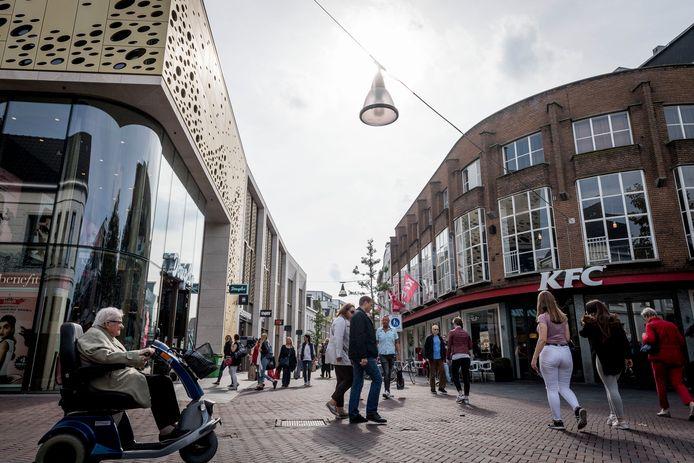Kruispunt de Heurne/Kalanderstraat in Enschede.