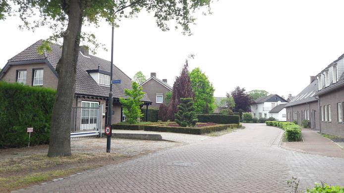 Het straatje Flinkert in Vessem waar het slachtoffer woonde.