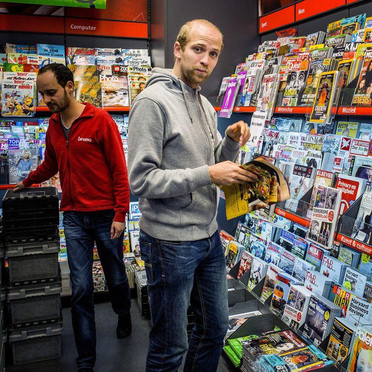 Marten Blankesteijn, oprichter en eigenaar van de onlinekiosk Blendle. Beeld Jiri Buller