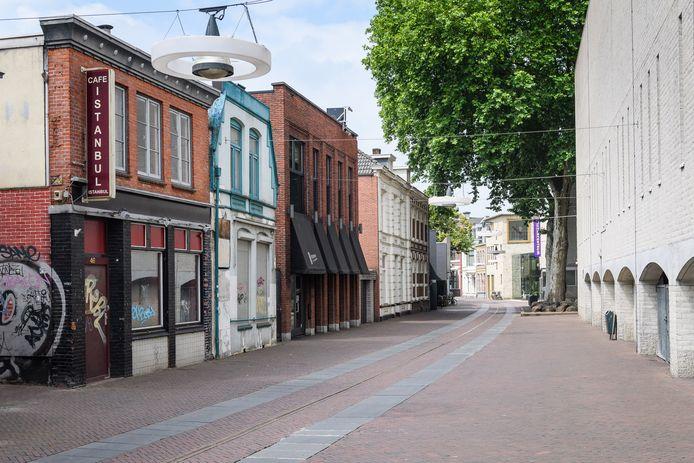De verwaarloosde panden Noorderhagen 44 en 46 staan op een horecawebsite te koop. Geïnteresseerden kunnen bieden.