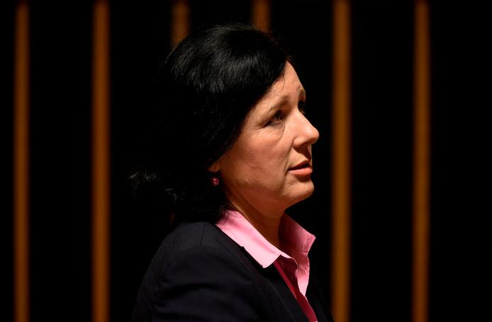 Justitiecommissaris Vera Jourová