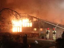 Zorgboerderij op Schokland gaat in vlammen op