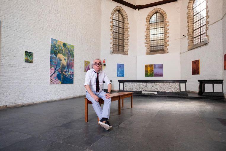 """Adriaan Raemdonck in de kapel van De Zwarte Panter: """"Antwerpen is en blijft een avant-gardestad."""""""