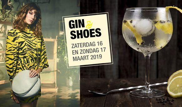 Poster voor evenement Gin & Shoes