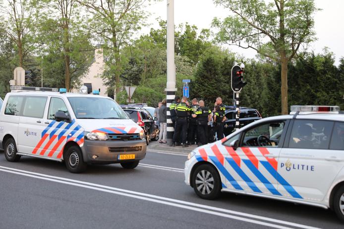 Grote politie-actie in Naaldwijk en 's-Gravenzande op dinsdagavond.
