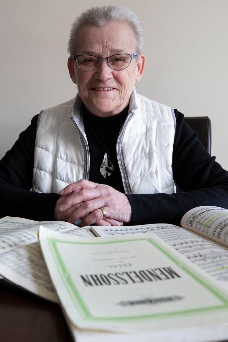 Lage alt Annie geniet al 60 jaar bij Kempenkoor