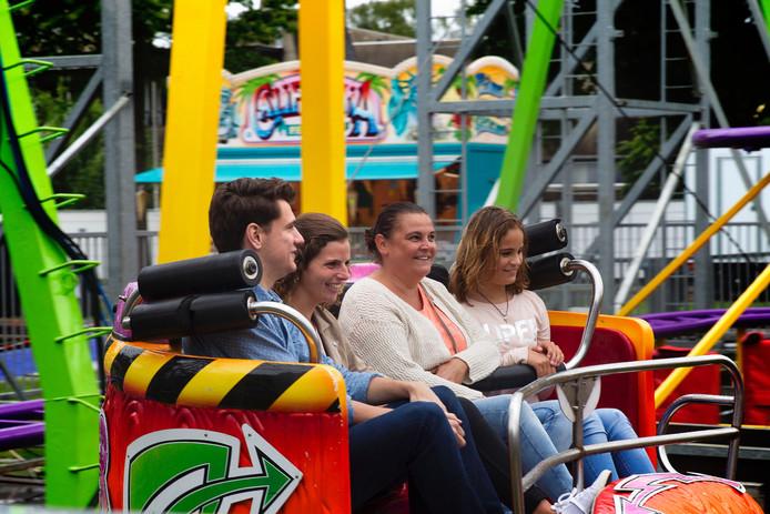 De Roller Coaster op Park Hilaria